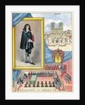 Jean-Baptiste Colbert, French minister of finance by Gilbert