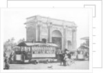 The first trams in London by Anonymous