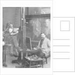 Sir Frank Brangwyn (1867-1956), Welsh artist by Reinhold Thiele