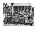 Children in national costume, Marken, Netherlands by Anonymous
