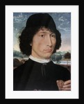 Portrait of Nicolo Spinelli by Hans Memling