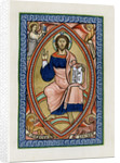 Christ in glory with the symbols of the four Evangelists by Anonymous