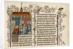 Two bible scenes by Anonymous