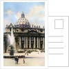 The Basilica of Saint Peter, Rome by Anonymous