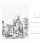 La Sainte-Chapelle by Alfred-Louis Brunet-Debaines