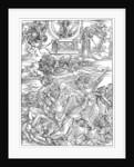 The Four Vengeful Angels by Albrecht Dürer