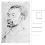 Portrait of a Negro by Albrecht Dürer