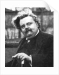 G.K. Chesterton (1874-1936), English writer by Anonymous