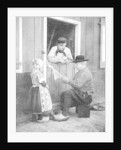 Dutch people wearing clogs, Marken, Holland by Donald McLeish