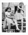 A mother and her child, Papua, New Guinea by Ewing Galloway