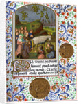 The Sabbath in Vaudois, France by Anonymous