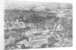 Aerial view of Buckingham Palace, London by Anonymous