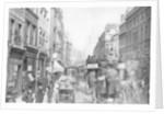 Fleet Street as seen from opposite Salisbury Court, London by Anonymous