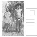 Grief for the dead shown by hempen halters, New Guinea by Thomas McMahon