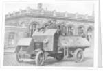 British armoured vehicle, First World War by Anonymous