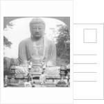 A bronze statue of Buddha, Kamakura, Japan by BL Singley