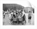 Washing-up at a juvenile summer holiday camp, Germany by Otto Haeckel