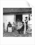 Leisure time for cowherds, Hungary by AW Cutler