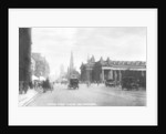 Looking east along Princes Street, Edinburgh by Valentine & Sons
