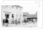 'Café in Mouland, destroyed by Germans', First World War by Anonymous