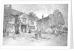 House designed upon old English farmhouse by M Adams-Acton