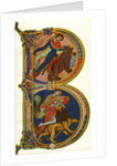 Initial B, Bible, Winchester by Anonymous