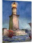 The Pharos of Alexandria, Egypt by Anonymous