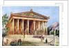 The Temple of Artemis, Ephesus, Turkey by Anonymous