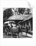 Leaving the dak bungalow for a 'bile-gharry', Belgaum district, southern India by Realistic Travels Publishers