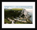 Ecclesbourne Cliff, Hastings, East Sussex by Anonymous