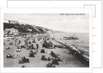 The beach at Bournemouth, Dorset by Anonymous
