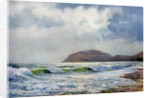 'A Stormy Day near Llandudno', Wales by FC Varley
