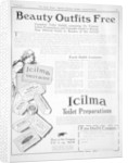 Advert for Icilma Toilet Preparations by Anonymous
