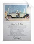 Advert for the Overland Whippet Collegiate Roadster car by Anonymous
