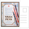 Advert for Swan pens by Anonymous
