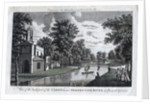 View of the back part of the Cassina and Serpentine River in Chiswick Gardens by Anonymous