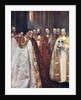 The Archbishop of Canterbury and York, and other prelates, the Coronation by Anonymous