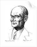 Study for Baron Aloisi, Italian statesman by Edmond Xavier Kapp