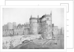 The Byward Tower and the outer ward, Tower of London by Anonymous