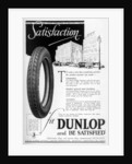 Dunlop advertisment by Anonymous