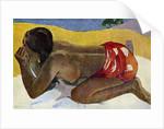 'Otahi' (Alone) by Paul Gauguin