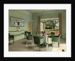 A French dining room by Anonymous