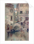 A Bye Canal, Venice by James Abbott McNeill Whistler