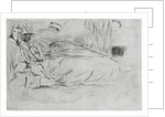 The Model, Lying Down by James Abbott McNeill Whistler