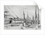 A sketch from Billingsgate by James Abbott McNeill Whistler