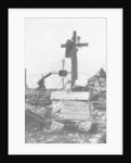 The grave of an Italian Red Cross volunteer nurse by Anonymous