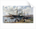 The 'Ripon' leaving Southampton with troops for the Crimea by Anonymous