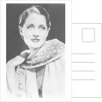 Norma Shearer (1902-1983), Canadian-born American actress by Anonymous