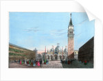 St Mark's Square, Venice, Italy by Kirchmayr