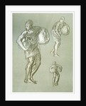 Studies for 'The Arts of Peace' by Frederic Leighton